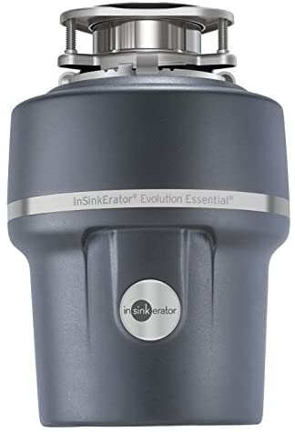 InSinkErator Garbage Disposal + Air Switch + Cord, Evolution Essential 3/4 HP