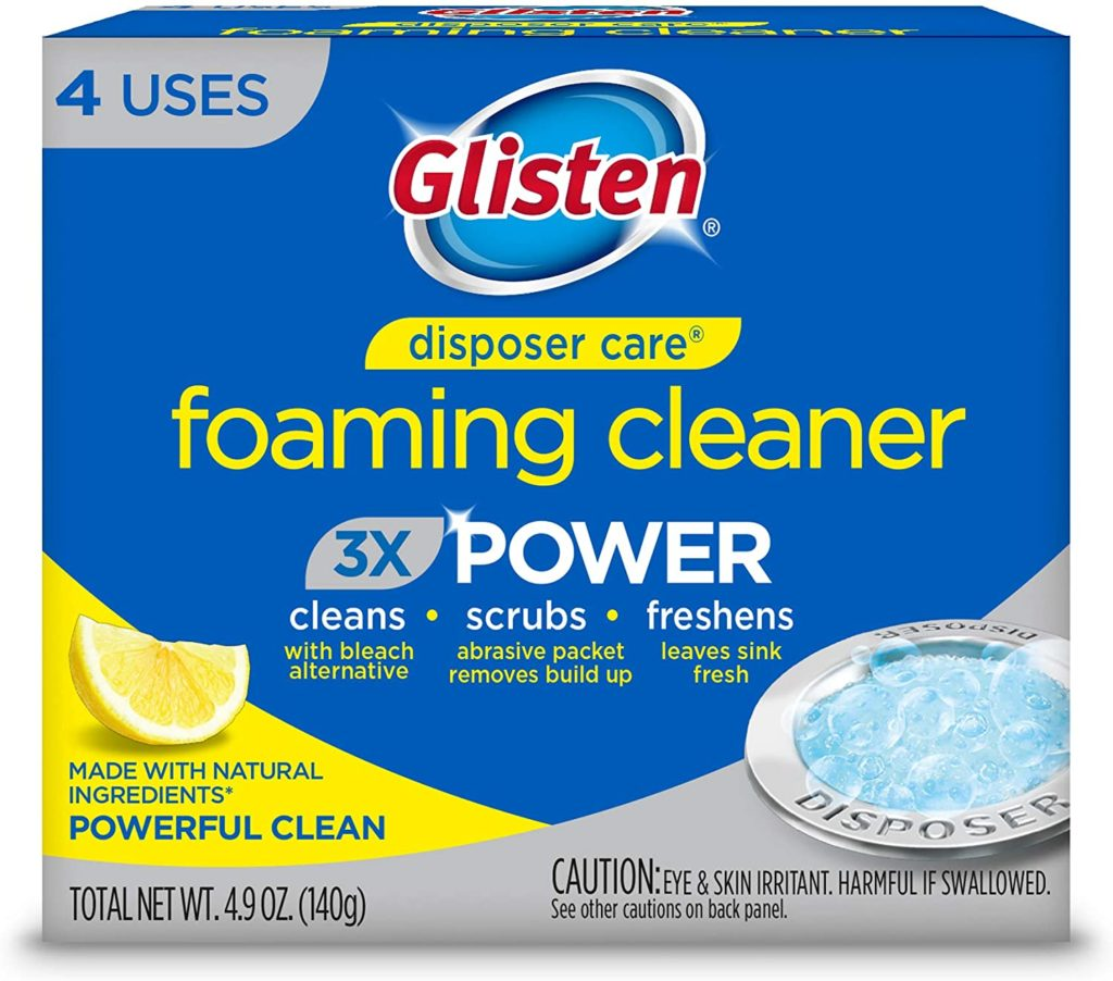 Glisten Disposal Cleaner Review