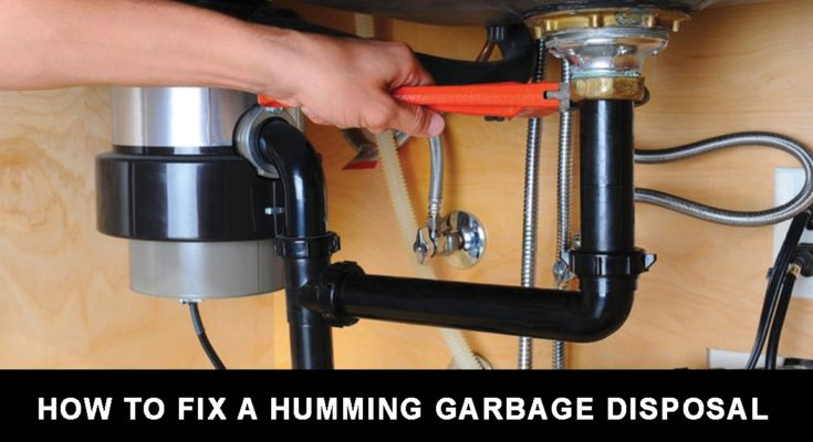 Fix a Humming Garbage Disposal