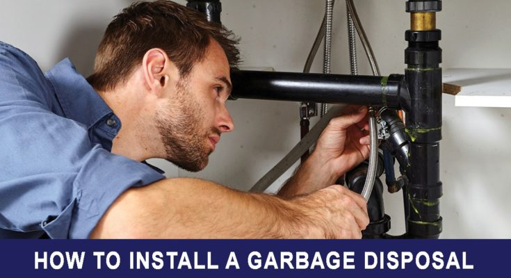 How to install the Garbage Disposal