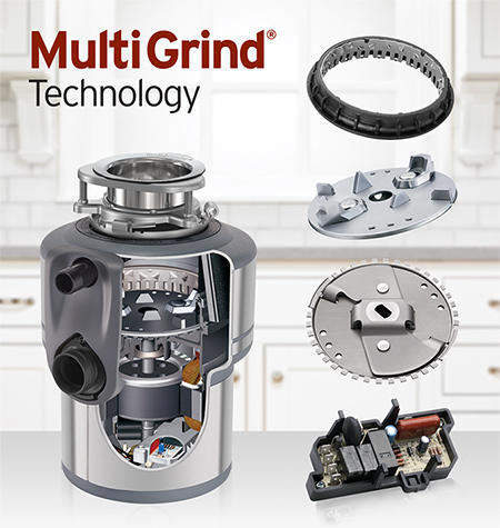Garbage Disposal in Multi Grind Technology