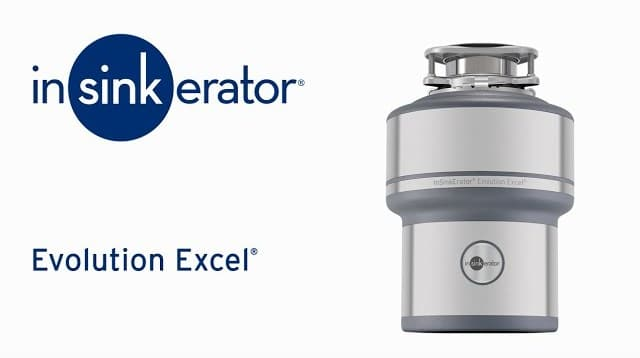 InSinkErator Stainless Steel Garbage Disposal