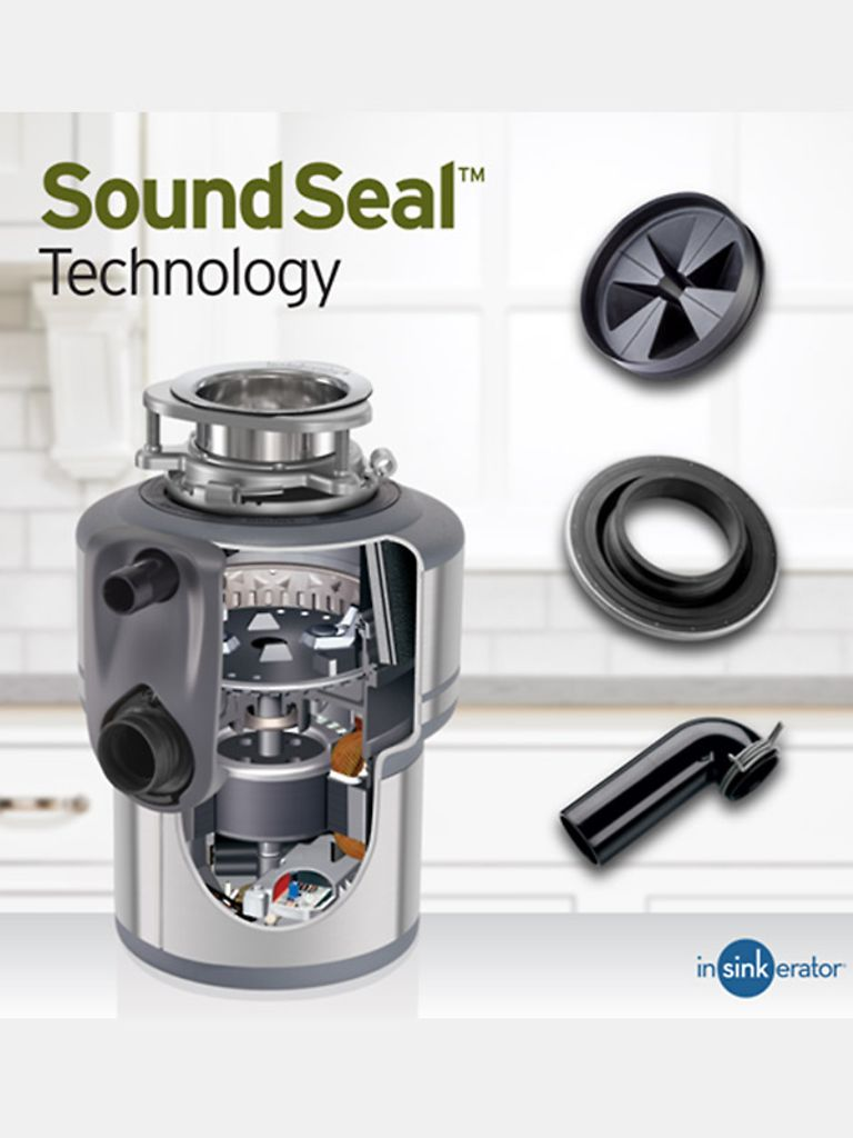 Sound Seal Technology in Top Garbage Disposal