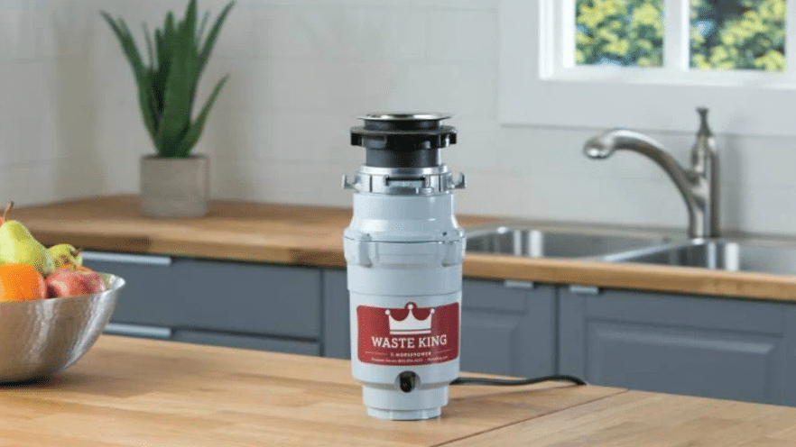 waste King Stainless Steel Garbage Disposal
