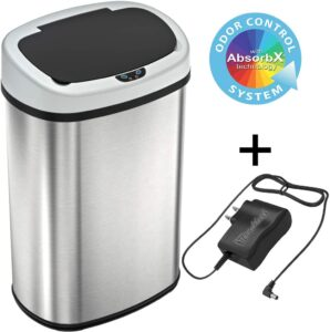 infrared automatic trash can