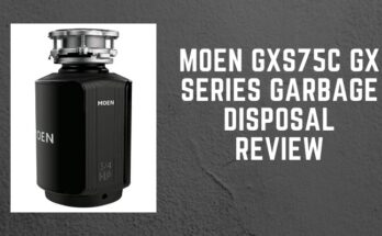 moen GXS75C garbage disposal review