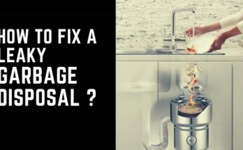 How to Fix Leaky Garbage Disposal
