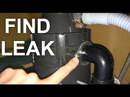 Find the Leakage in garbage Disposal